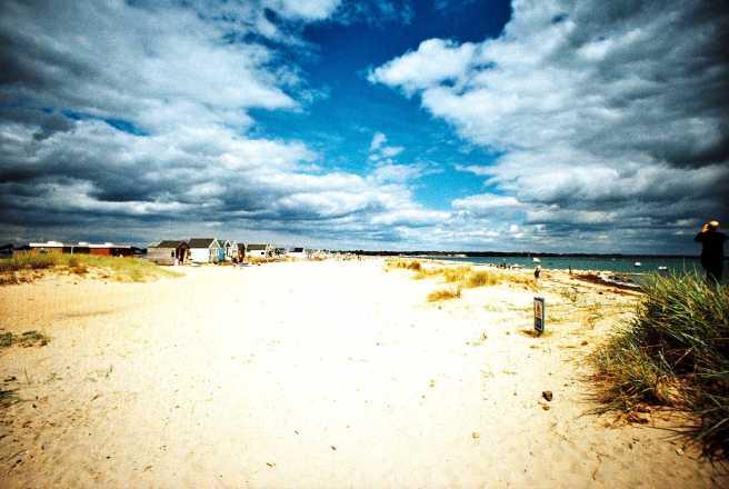 Mudeford beach