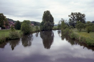 River Leine in Alfeld