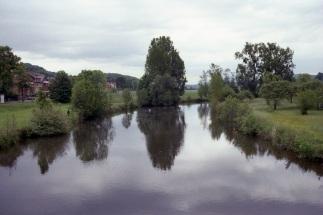 River Leine in Alfeld