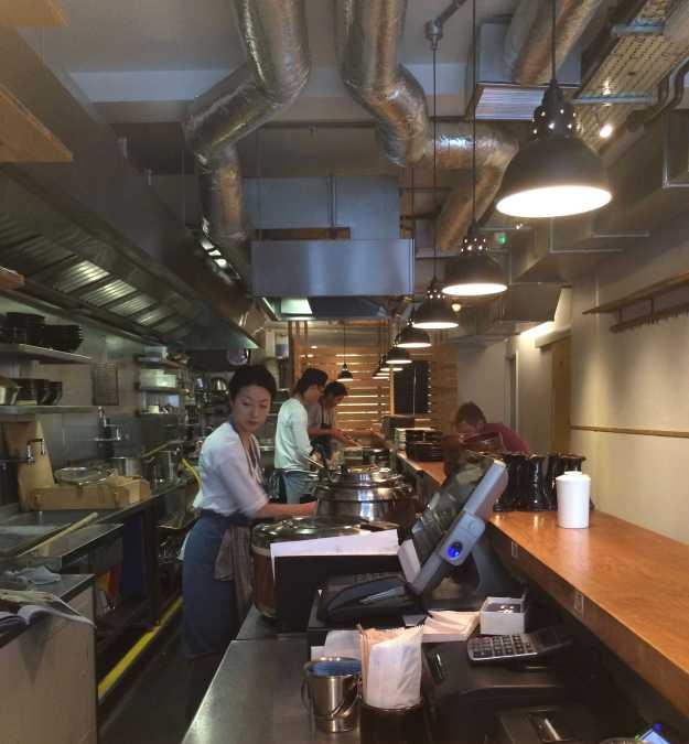 Staff in Koya bar