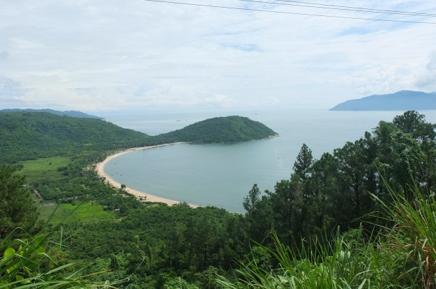 View over the bay in Vietnam