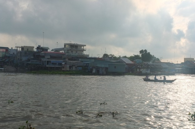 Early morning in Chau Doc